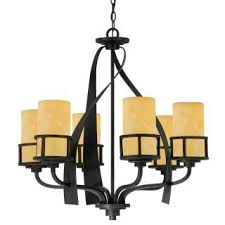Bronze Chandelier With Shades Quoizel Ky5006ib Imperial Bronze Kyle 6 Light 28