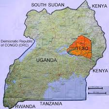 Map Of Uganda Background Information About Uganda Homestead Tours And Safaris