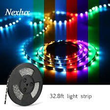 nexlux led light strip nexlux led light strip wifi wireless smart phone controlled strip ligh