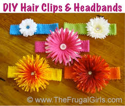 how to make headband for baby how to make flower headbands for babies and