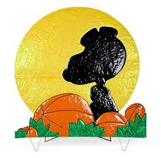 charlie brown halloween decorations great pumpkin online store peanuts snoopy silhouette with moon halloween yard
