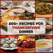 easy thanksgiving menu 200 recipes for thanksgiving dinner