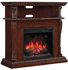 Electric Fireplace Tv by Amazon Com Corinth Oak Infrared Electric Fireplace Tv Stand