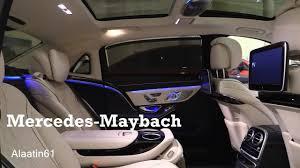 maybach 2017 mercedes maybach interior review youtube