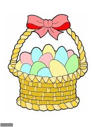 egg basket clipart 47