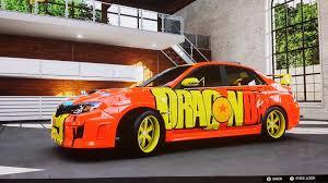 lexus paint jobs forza motorsports 5 dragonball paint job youtube