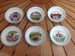 villeroy boch design naif quiche dishes reduced in carterton
