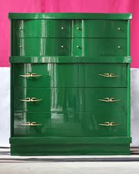 Painted Mid Century Furniture by Painted Furniture Archives The Resplendent Crow
