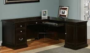Office Desk Black by Black L Shaped Office Desk Ideas Decorate L Shaped Office Desk