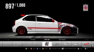 honda jdm forza 4 honda civic jdm sticker bomb painting youtube