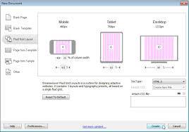 tutorial website dreamweaver cs5 creating responsive designs with dreamweaver cs6 fluid grid layout