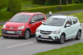 opel karl rocks opel karl rocks vs vw cross up bilder autobild de