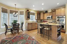 Kitchen Table Lighting Pictures Of Kitchens Traditional Light Wood Kitchen Cabinets