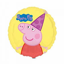 peppa pig peppa pig balloon u0026 party supplies lombard