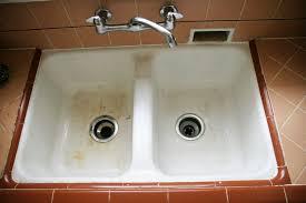 How To Clean White Porcelain Kitchen Sink Sink How To Clean A Porcelain Kitchen Your Stainless Steel Sinki