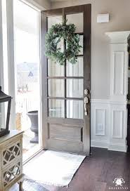 Front Door Storage Organized Foyer Coat Closet Before And After Makeover Foyers