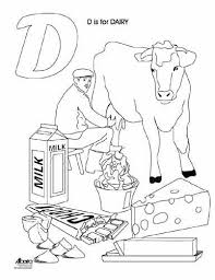agriculture a z a colouring book