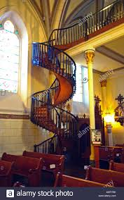 spiral staircase made with no nails or screws san miguel church
