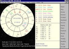 Parashara Light A Great Vedic Astrology Jyotish Software Parashara U0027s Light