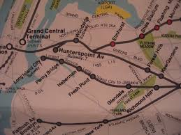 Mta Map Commuter Rail Map 1984 Lirr City Zone
