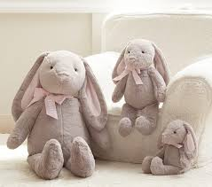 stuffed bunny bunny plush collection pottery barn kids