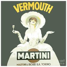 martini rosso vermouth 1952 martini and rossi vermouth advertisement poster color