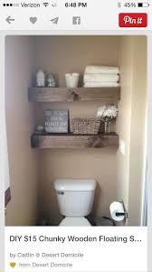 Pinterest Bathroom Storage Best 25 Shelves Over Toilet Ideas On Pinterest Diy Bathroom