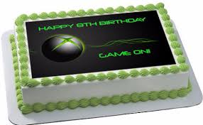 xbox cake topper systems edible cake toppers edible