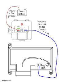 arp wiring with norcold 1210 and recall box irv2 forums