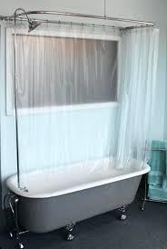 full bathroom ideas round shower curtain rod brushed nickel full bath shower curtain
