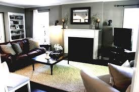 Living Rooms With Dark Brown Sofas Living Room Colour Scheme For Elegant 2017 Living Room Design