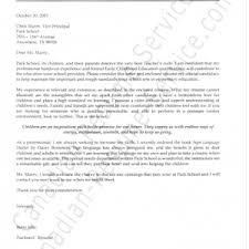 cover letter example of cover letter for teaching sample of cover