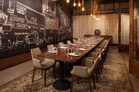The Dining Rooms by District Restaurant On The Bloc In Downtown La