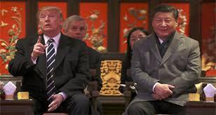 donald trump xi begin talks in beijing abb takk news