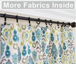 Blue Ikat Curtain Panels Pair Peacock Curtain Panels Kiwi Green Navy Blue Curtains Ikat