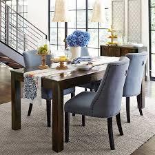 Black Wood Dining Chair Fascinating Dining Room Sets Black Rail Blue Velvet Curtain Black