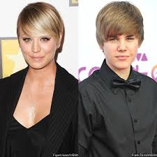 why kaley cucoo cut her hair kaley cuoco on her pixie haircut do i look like justin bieber