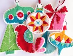 felt ornaments 10 felt ornaments to sew sew what
