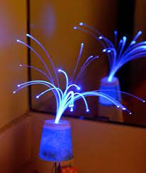 ikat bag science party fiber optic lamp