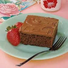 favorite chocolate sheet cake recipe taste of home