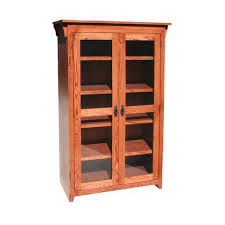bookcases with full doors