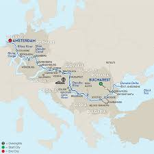 Passau Germany Map by 24 Day Avalon River Cruise From Bucharest To Amsterdam 2017