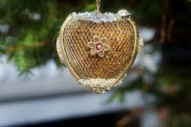 Heart Home Decor Jeweled Bling Heart Ornament For Her Large Jewelry Heart Boho