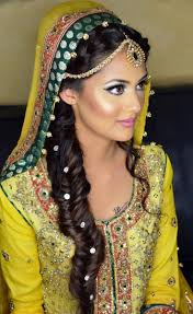 indian bridal hairstyle latest pakistani bridal hairstyles 2017 for girls 6 fashionglint