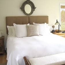 awesome wall mounted upholstered headboards 30 in image with wall