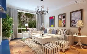 interior fresh mediterranean home interior design with