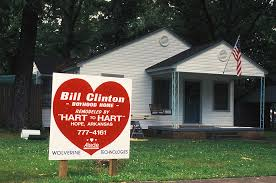 Bill Clinton House Childhood Home Of Bill Clinton Photograph By Carl Purcell
