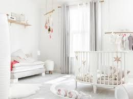 chambre fille et blanc idée chambre bébé blanc