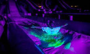 glow in the party blacklight slide in salt lake city ut groupon