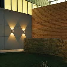 Discount Outdoor Wall Lighting - astro kalsa ip44 led recessed outdoor wall light stainless for